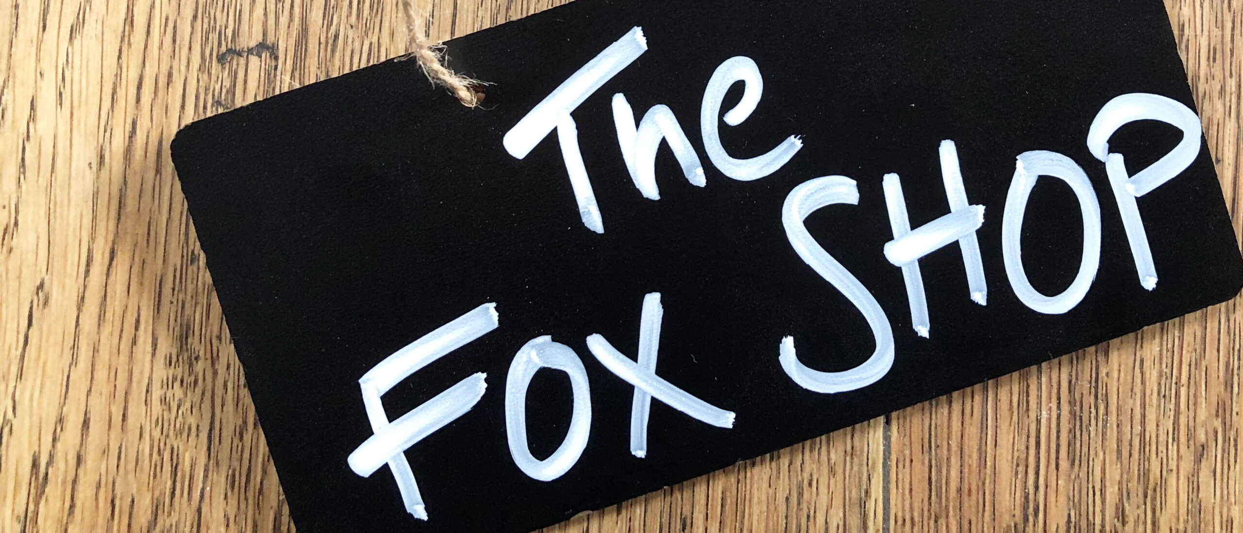 Have you visited the Fox Shop yet?
