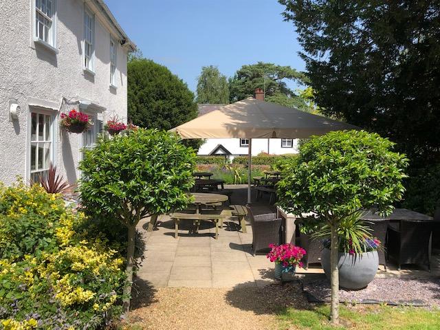 Pub terrace Hertfordshire